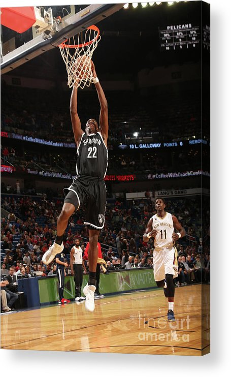 Smoothie King Center Acrylic Print featuring the photograph Caris Levert by Layne Murdoch