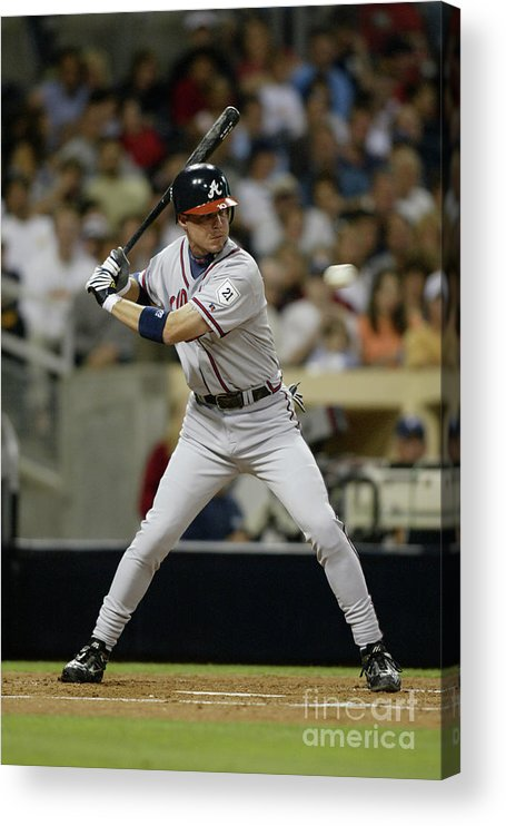 California Acrylic Print featuring the photograph Chipper Jones by Streeter Lecka