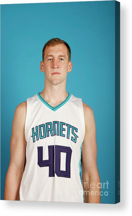 Media Day Acrylic Print featuring the photograph Cody Zeller by Brock Williams-smith