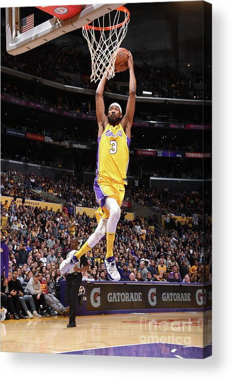 Nba Pro Basketball Acrylic Print featuring the photograph Corey Brewer by Andrew D. Bernstein