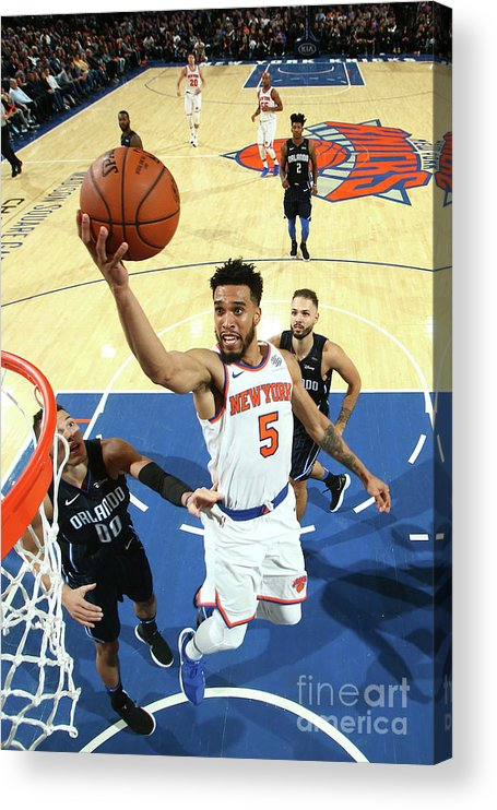 Nba Pro Basketball Acrylic Print featuring the photograph Courtney Lee by Nathaniel S. Butler