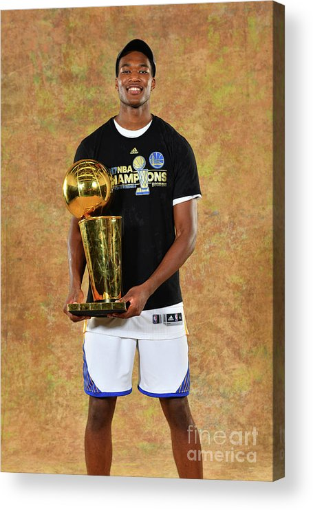 Playoffs Acrylic Print featuring the photograph Damian Jones by Jesse D. Garrabrant