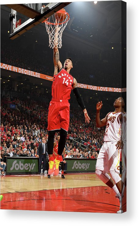 Nba Pro Basketball Acrylic Print featuring the photograph Danny Green by Ron Turenne
