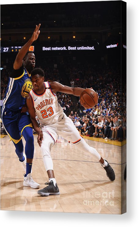 Nba Pro Basketball Acrylic Print featuring the photograph Danuel House by Noah Graham
