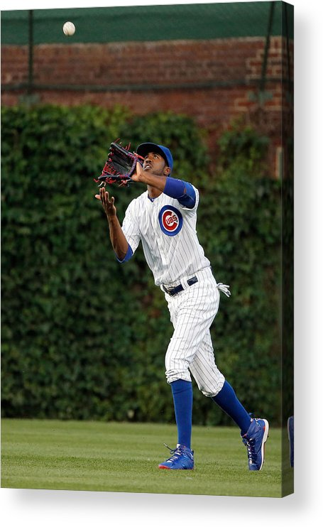 People Acrylic Print featuring the photograph Dexter Fowler by Jon Durr
