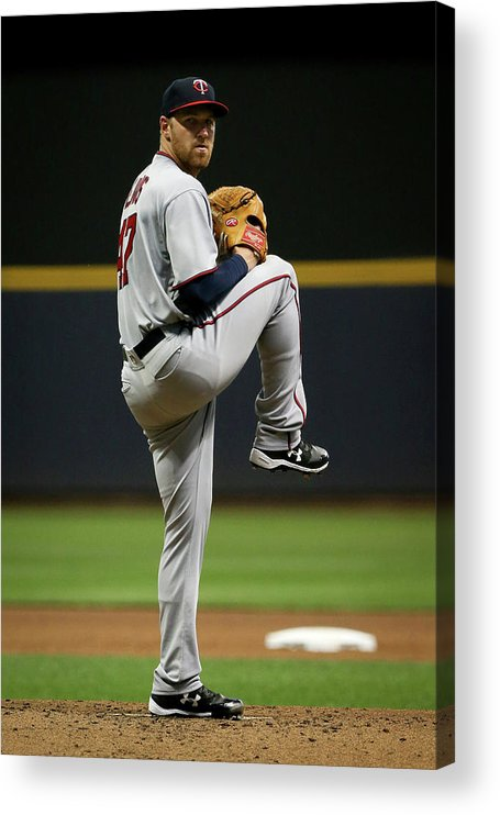 Second Inning Acrylic Print featuring the photograph Dietrich Enns by Dylan Buell