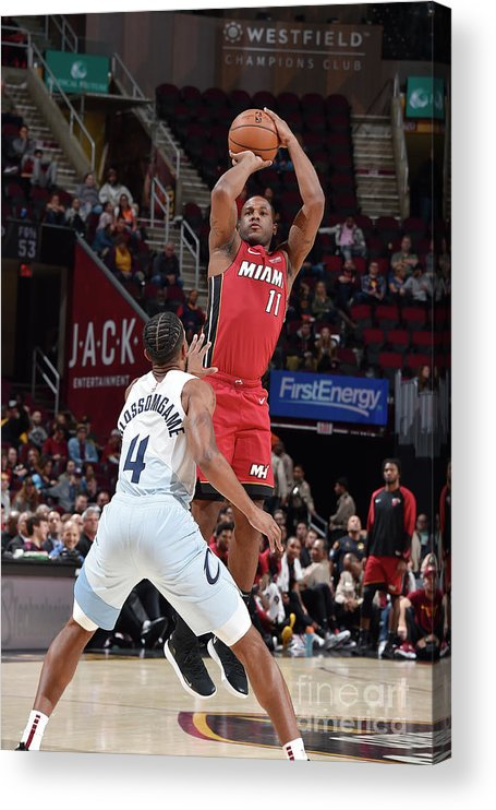 Nba Pro Basketball Acrylic Print featuring the photograph Dion Waiters by David Liam Kyle