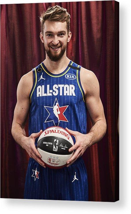 Nba Pro Basketball Acrylic Print featuring the photograph Domantas Sabonis by Jennifer Pottheiser