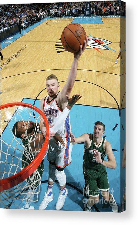 Nba Pro Basketball Acrylic Print featuring the photograph Domantas Sabonis by Layne Murdoch