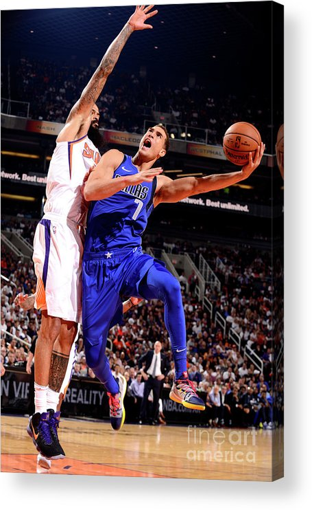 Dwight Powell Acrylic Print featuring the photograph Dwight Powell by Barry Gossage