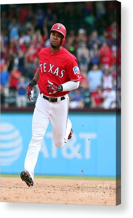 People Acrylic Print featuring the photograph Elvis Andrus by Richard Rodriguez