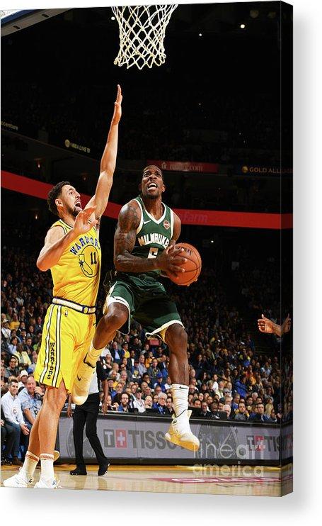Nba Pro Basketball Acrylic Print featuring the photograph Eric Bledsoe by Noah Graham