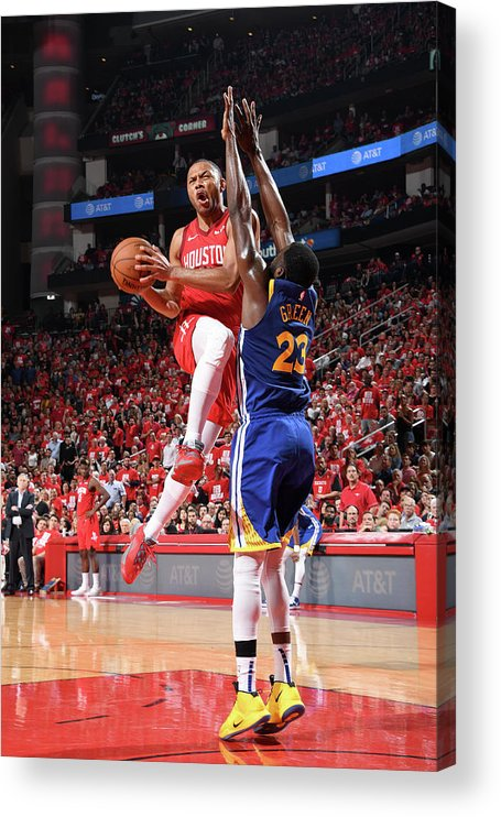 Playoffs Acrylic Print featuring the photograph Eric Gordon by Andrew D. Bernstein