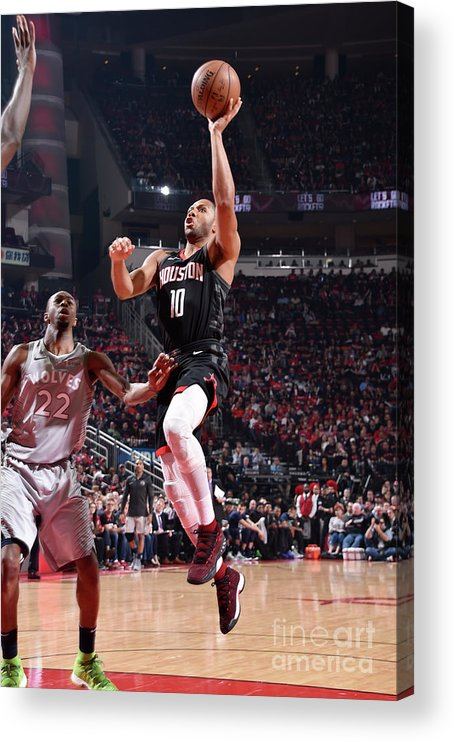 Playoffs Acrylic Print featuring the photograph Eric Gordon by Bill Baptist