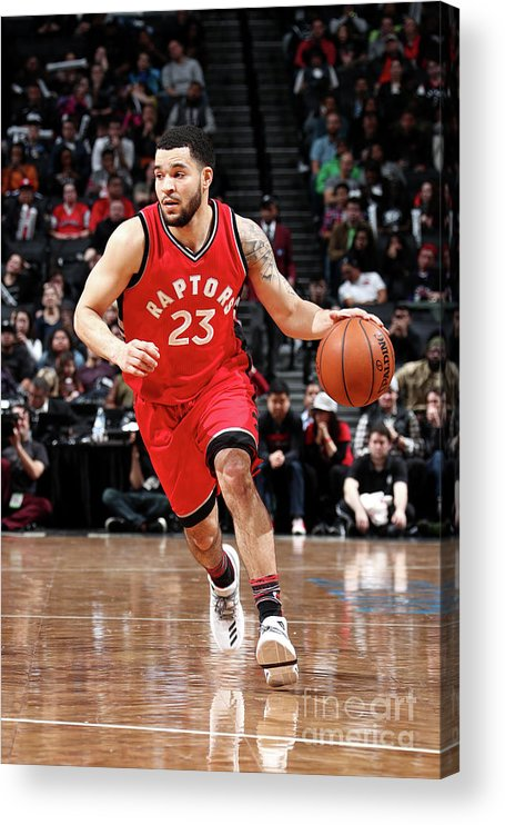 Nba Pro Basketball Acrylic Print featuring the photograph Fred Vanvleet by Nathaniel S. Butler