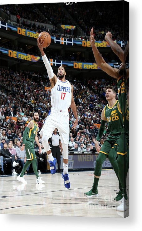 Nba Pro Basketball Acrylic Print featuring the photograph Garrett Temple by Melissa Majchrzak