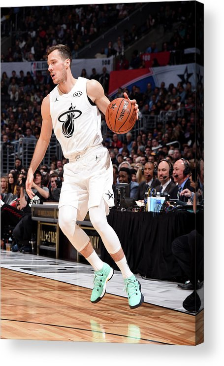 Nba Pro Basketball Acrylic Print featuring the photograph Goran Dragic by Andrew D. Bernstein