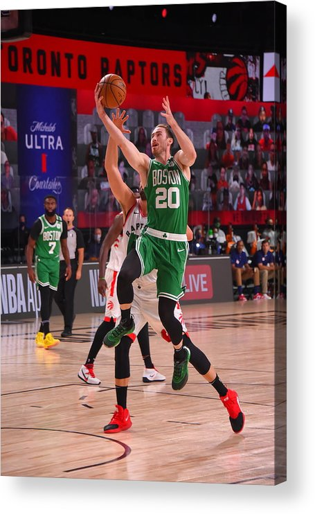 Nba Pro Basketball Acrylic Print featuring the photograph Gordon Hayward by Bill Baptist