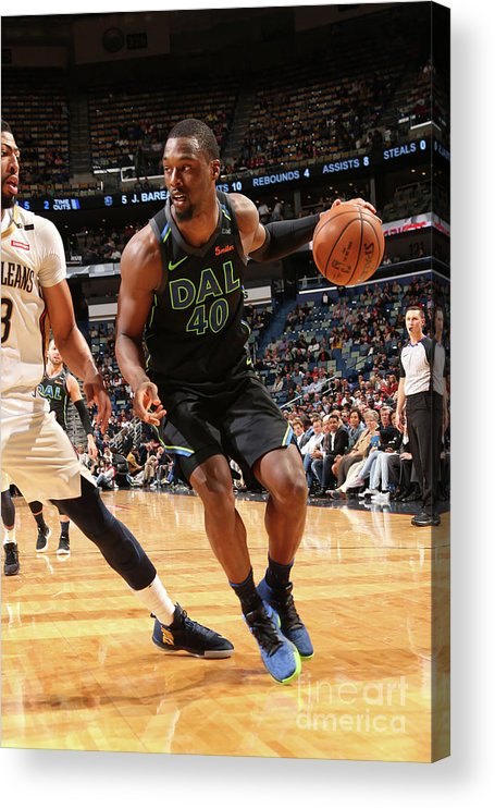 Smoothie King Center Acrylic Print featuring the photograph Harrison Barnes by Layne Murdoch