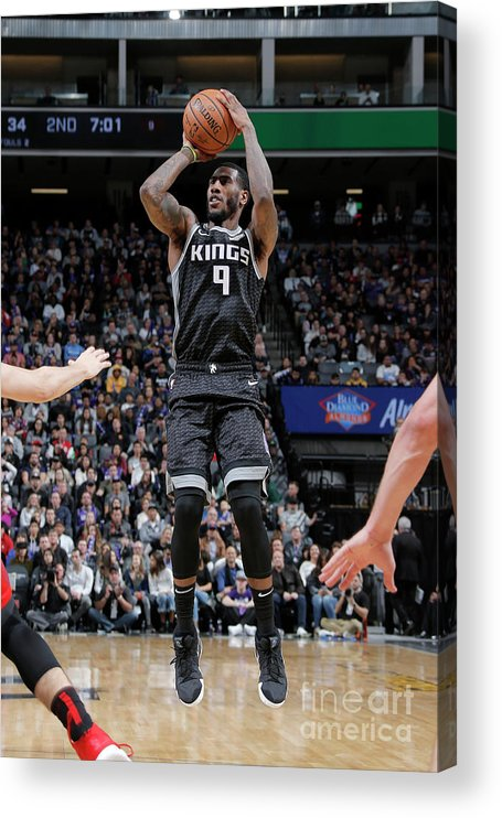 Nba Pro Basketball Acrylic Print featuring the photograph Iman Shumpert by Rocky Widner