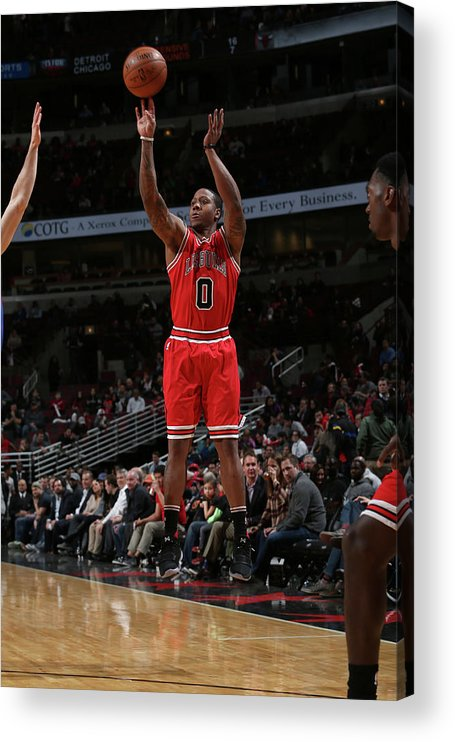 Isaiah Canaan Acrylic Print featuring the photograph Isaiah Canaan by Gary Dineen