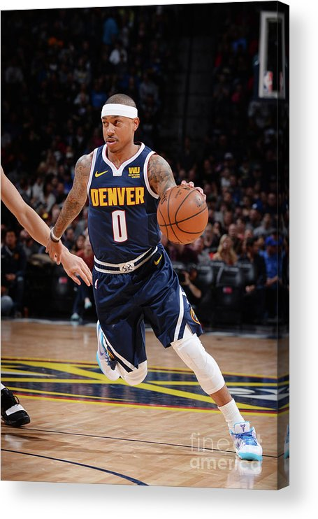 Nba Pro Basketball Acrylic Print featuring the photograph Isaiah Thomas by Bart Young