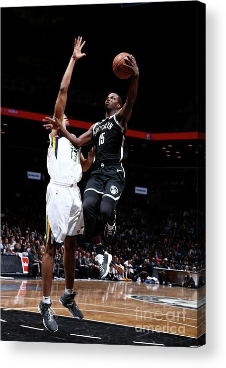 Nba Pro Basketball Acrylic Print featuring the photograph Isaiah Whitehead by Nathaniel S. Butler