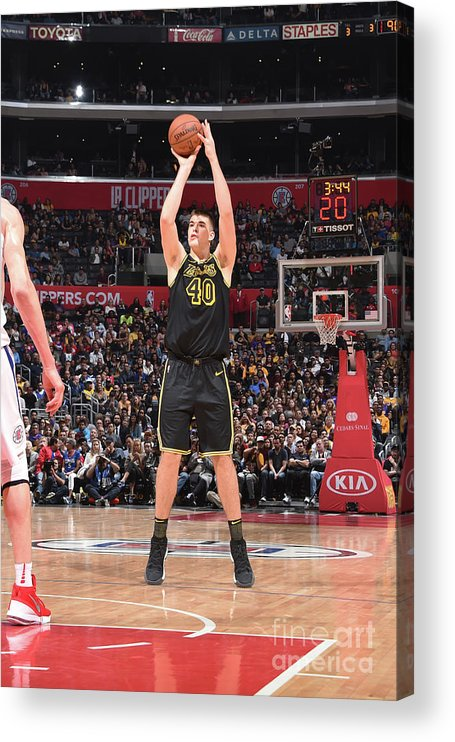 Sports Ball Acrylic Print featuring the photograph Ivica Zubac by Adam Pantozzi