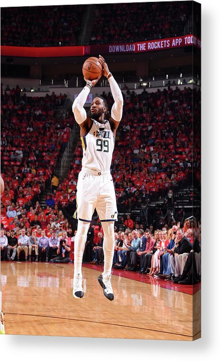 Playoffs Acrylic Print featuring the photograph Jae Crowder by Bill Baptist