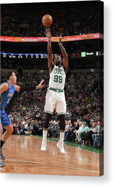 Nba Pro Basketball Acrylic Print featuring the photograph Jae Crowder by Steve Babineau