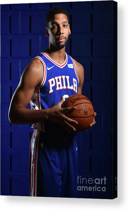 Media Day Acrylic Print featuring the photograph Jahlil Okafor by Jesse D. Garrabrant