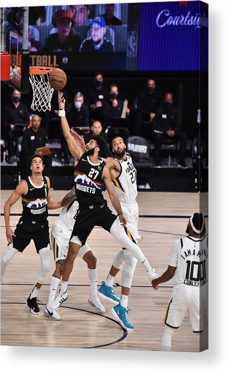 Playoffs Acrylic Print featuring the photograph Jamal Murray by David Dow