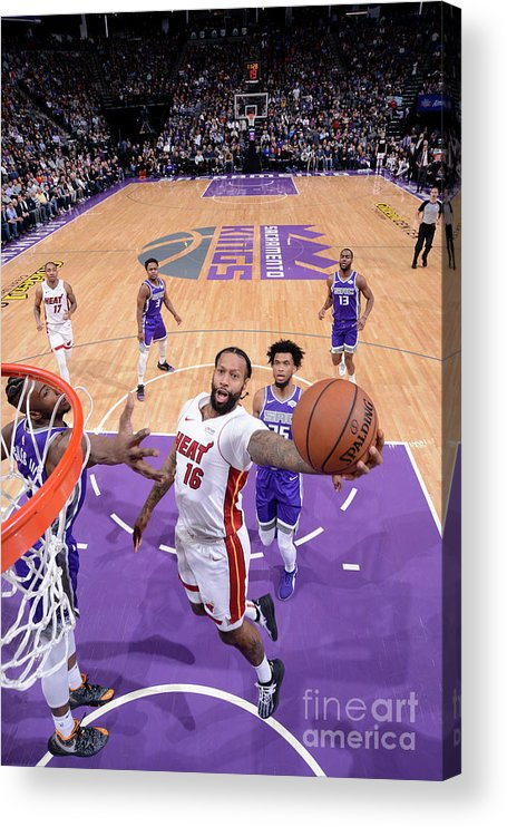 Nba Pro Basketball Acrylic Print featuring the photograph James Johnson by Rocky Widner
