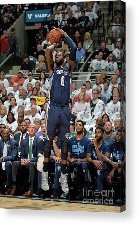 Playoffs Acrylic Print featuring the photograph Jamychal Green by Mark Sobhani