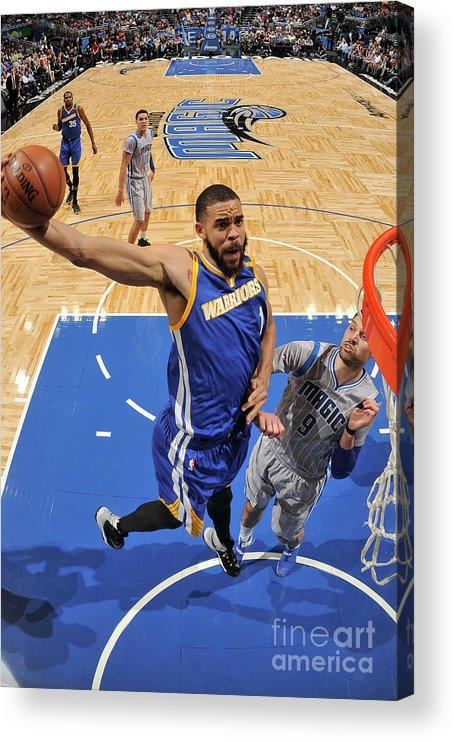 Nba Pro Basketball Acrylic Print featuring the photograph Javale Mcgee by Fernando Medina