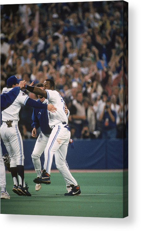 Toronto Acrylic Print featuring the photograph Jay Rogers by Mlb Photos