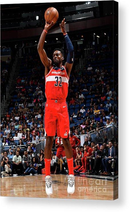 Nba Pro Basketball Acrylic Print featuring the photograph Jeff Green by Fernando Medina