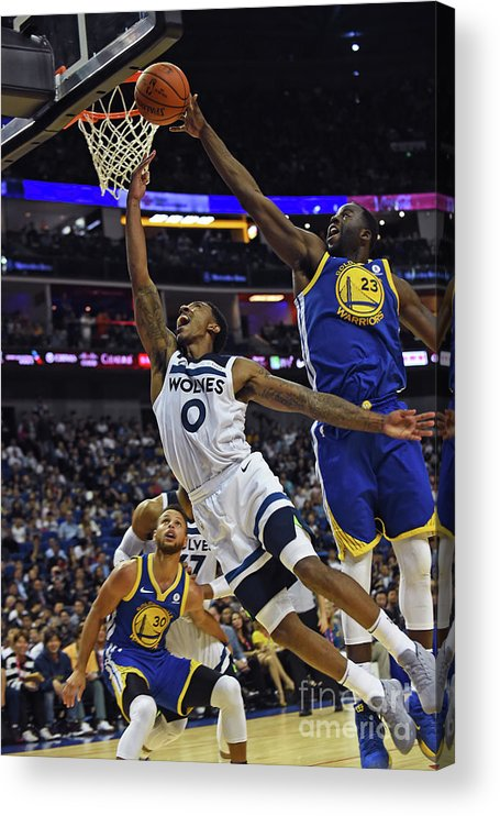 Event Acrylic Print featuring the photograph Jeff Teague by Noah Graham