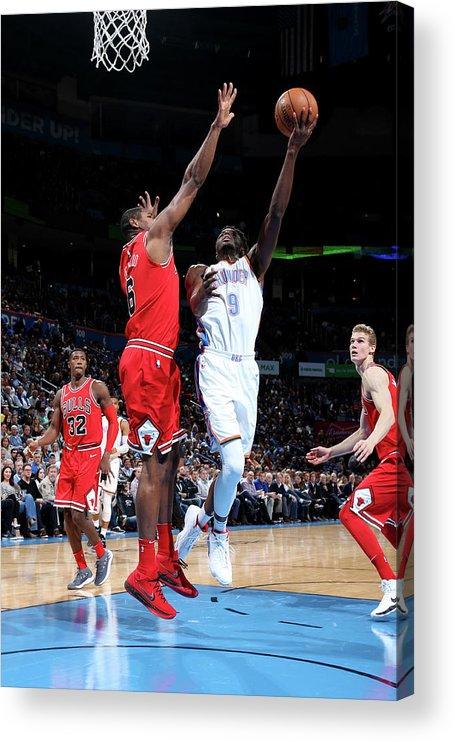 Nba Pro Basketball Acrylic Print featuring the photograph Jerami Grant by Layne Murdoch