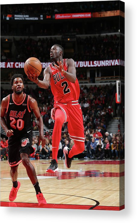 Nba Pro Basketball Acrylic Print featuring the photograph Jerian Grant by Gary Dineen