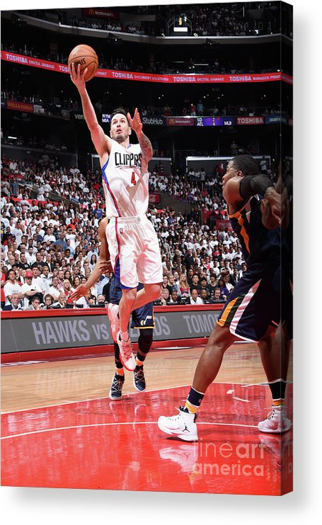 Playoffs Acrylic Print featuring the photograph J.j. Redick by Andrew D. Bernstein