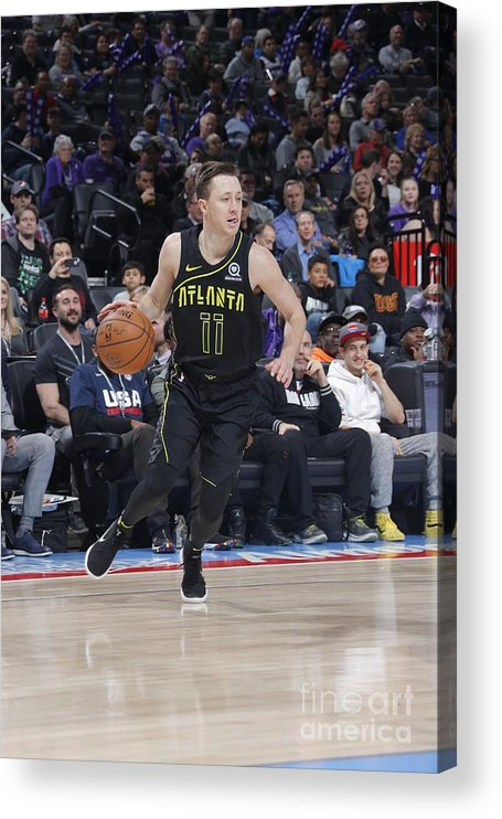 Nba Pro Basketball Acrylic Print featuring the photograph Josh Magette by Rocky Widner