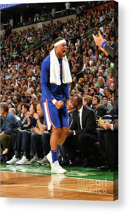 Playoffs Acrylic Print featuring the photograph Justin Anderson by Jesse D. Garrabrant