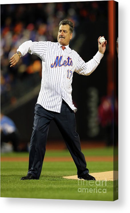 People Acrylic Print featuring the photograph Keith Hernandez by Elsa
