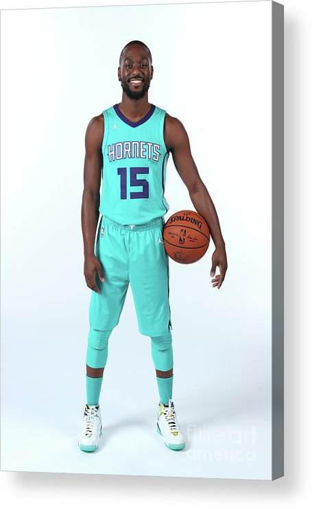Media Day Acrylic Print featuring the photograph Kemba Walker by Kent Smith
