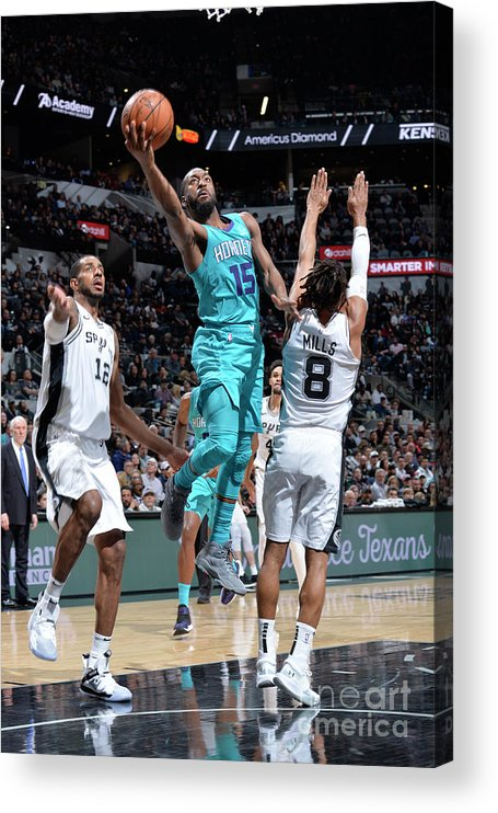 Kemba Walker Acrylic Print featuring the photograph Kemba Walker by Mark Sobhani