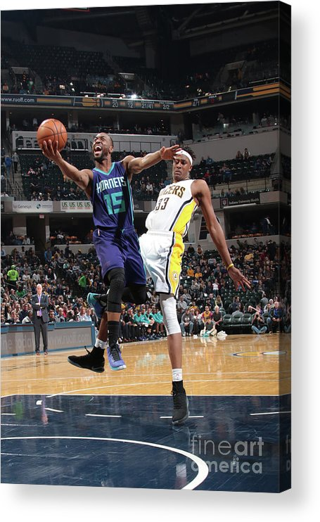 Kemba Walker Acrylic Print featuring the photograph Kemba Walker by Ron Hoskins