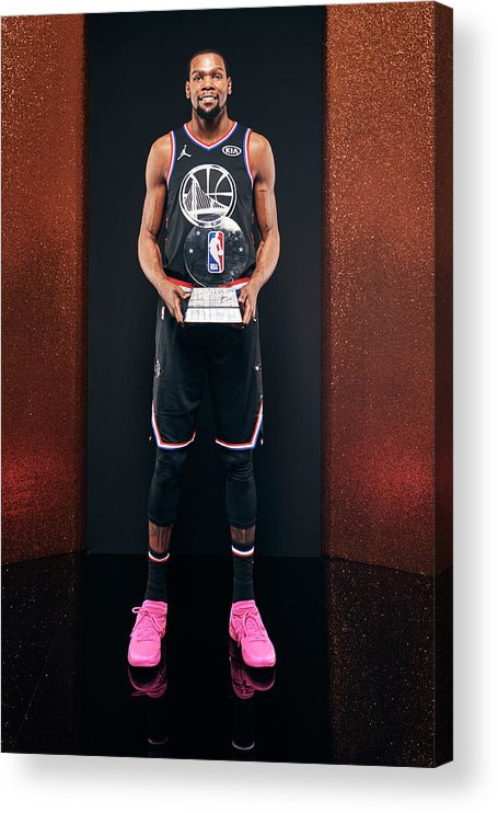 Nba Pro Basketball Acrylic Print featuring the photograph Kevin Durant by Jennifer Pottheiser