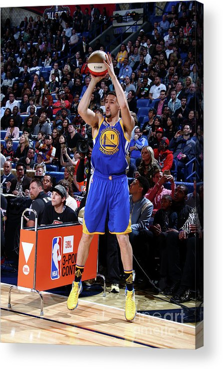 Event Acrylic Print featuring the photograph Klay Thompson by Nathaniel S. Butler