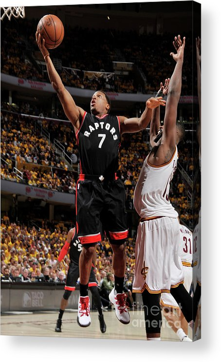 Playoffs Acrylic Print featuring the photograph Kyle Lowry by David Liam Kyle
